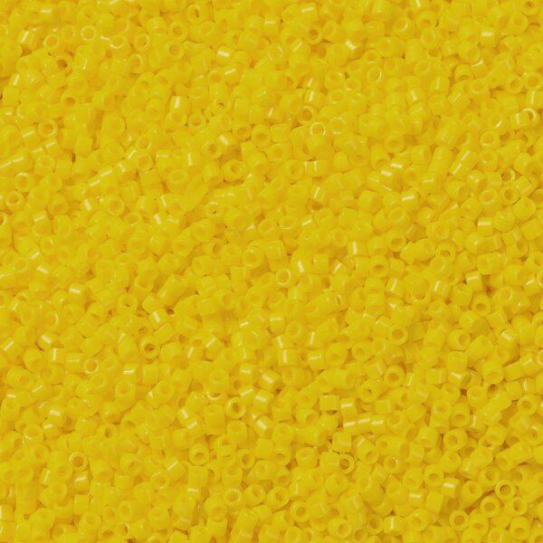 0a13aaf13945c28bc6685bcfede2a2d5 MIYUKI DB1132 Delica Beads 11/0 - Opaque Canary, 50g/bag