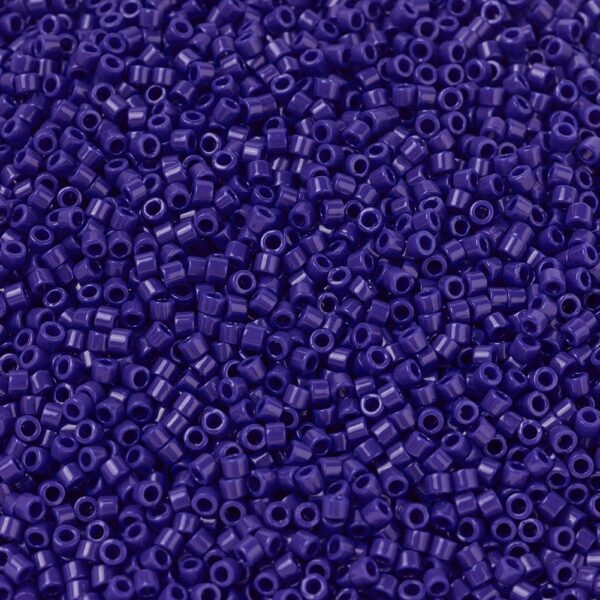 4c16a9962416ac0e6a9ef5dc00fe4ae3 MIYUKI DB0726 Delica Beads 11/0 - Opaque Cobalt, 50g/bag