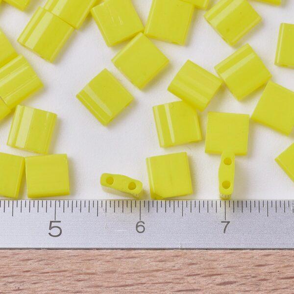 54dea1a4a783c3084736eb31b13a643c MIYUKI TL404 TILA Beads - Opaque Yellow Seed Beads, 10g/bag