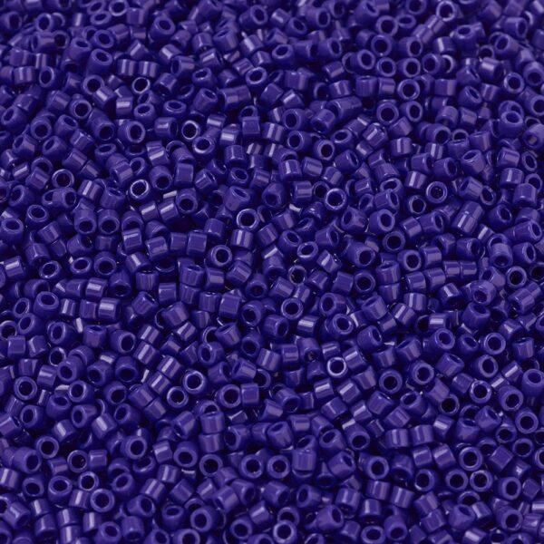 646fe6ef98503bf6b2f18bd24122a64f MIYUKI DB0726 Delica Beads 11/0 - Opaque Cobalt, 10g/bag