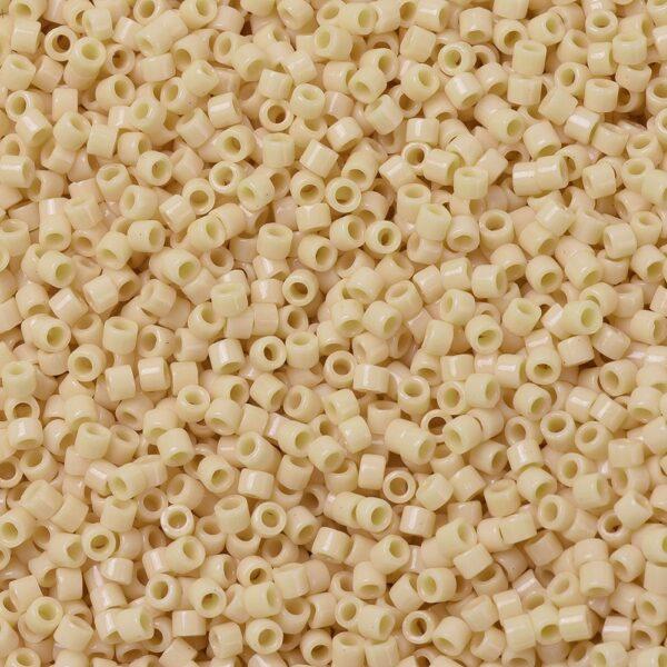 a968ef5f0e7eee12bf7d02ca8c725474 MIYUKI DB1131 Delica Beads 11/0 - Opaque Pear, 50g/bag