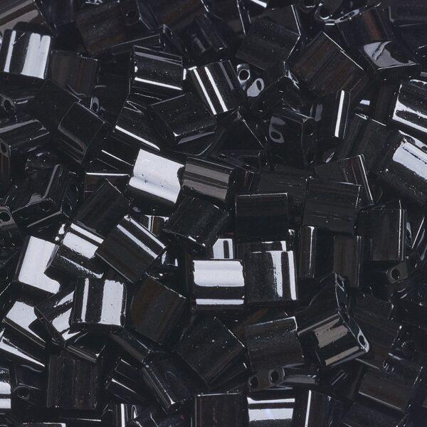 b4862706b65f084bb5243a1df0ea192e MIYUKI TL401 TILA Beads - Opaque Black Seed Beads, 10g/bag