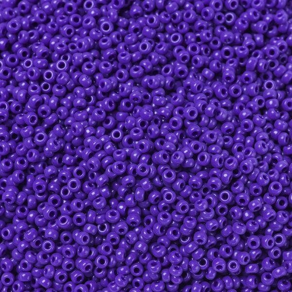 d1866659816d747cb2e73af1c6584d42 MIYUKI 11-414 Round Rocailles Beads 11/0, RR414 Opaque Cobalt, 50g/bag