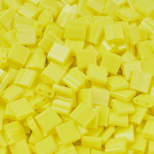 e5f28792152f88b830603a0091e1213b MIYUKI TL404 TILA Beads - Opaque Yellow Seed Beads, 50g/bag