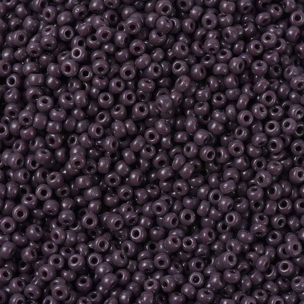 e9bdf3b24adfc073f3ca83fb778f40f7 MIYUKI 11-497 Round Rocailles Beads 11/0, RR497 Opaque Chocolate, 50g/bag
