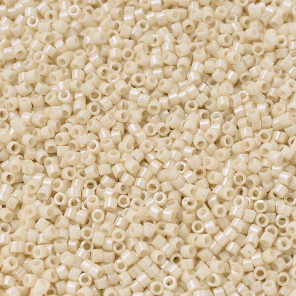 d69dff735896904297b6150af5061f10 MIYUKI DB0204 Delica Beads 11/0 - Opaque Antique Beige Ceylon, 100g/bag