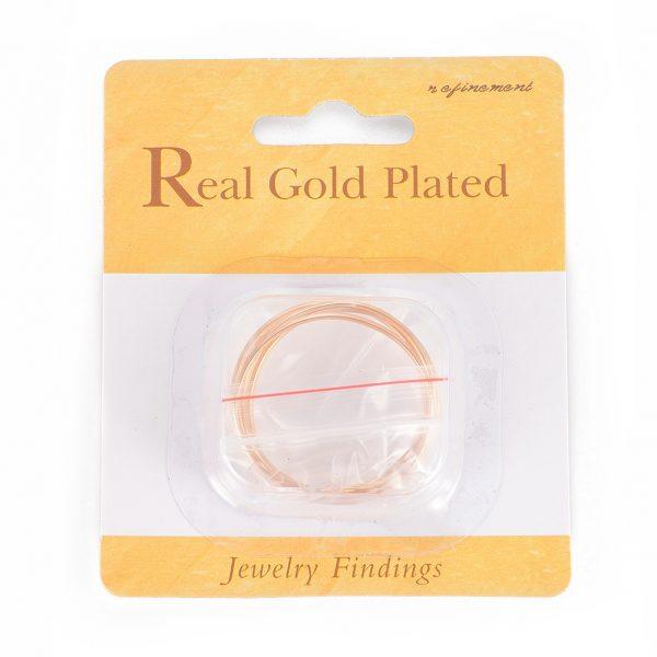 57066ef1b62f8070bf6c54a87da2ae0c Real 18K Gold Plated Brass Linking Rings, Nickel Free, 34.5x1.5mm, 5 pcs/ bag