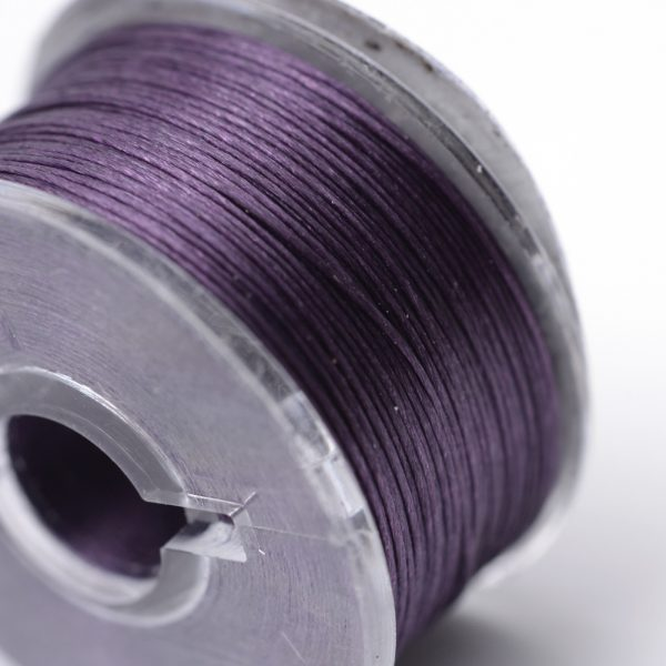 OCOR R038 09 1 Japanese FGB Cords Nylon String, Miyuki Elastic Beading Thread, 0.1mm Diameter, Purple, Sold per 50-yard Spool