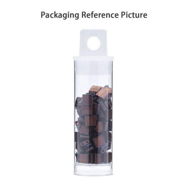 FR 4 MIYUKI TILA TL4520 Opaque Orange Picasso Seed Beads, 10g/Tube