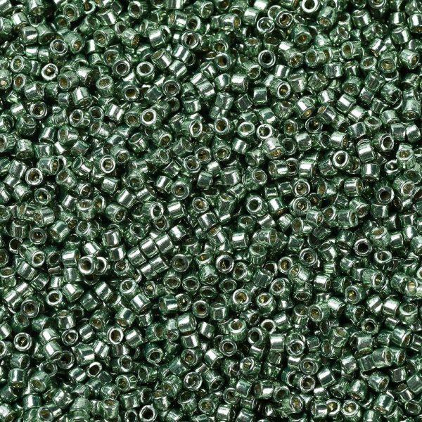 SEED JP0008 DB1845 1 0 DB1845 Duracoat Galvanized Sea Green MIYUKI Delica Beads 11/0, 1.3x1.6mm, Hole: 0.8mm; about 2000pcs/10g