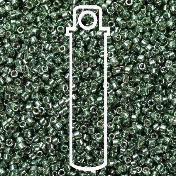 SEED JP0008 DB1845 1 0 tube DB1845 Duracoat Galvanized Sea Green MIYUKI Delica Beads 11/0, 1.3x1.6mm, Hole: 0.8mm; about 2000pcs/tube, 10g/tube