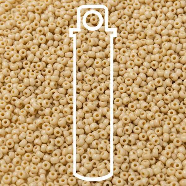 SEED JP0009 RR0493 1 RR493 Opaque Pear MIYUKI Round Rocailles Beads 8/0 (8-493), 3mm, Hole: 1mm, about 866pcs/tube, 10g/tube
