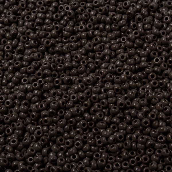 SEED X0055 RR0409 1 RR409 Opaque Chocolate MIYUKI Round Rocailles Beads 8/0 (8-409), 3mm, Hole: 1mm; about 4333pcs/50g