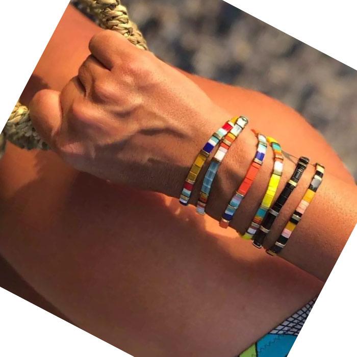 Tila Bracelet P MineBeads - Distributor of Cheap Quality Miyuki Seed Beads, Findings & Suppliers