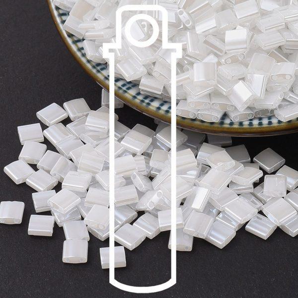 X SEED J020 TL0511 3 1 MIYUKI TILA TL511 Crystal Ceylon Seed Beads, 10g/Tube