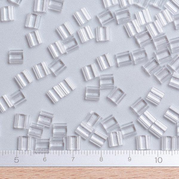 X SEED J020 TL131 1 MIYUKI TILA TL131 Crystal Seed Beads, 100g/Bag