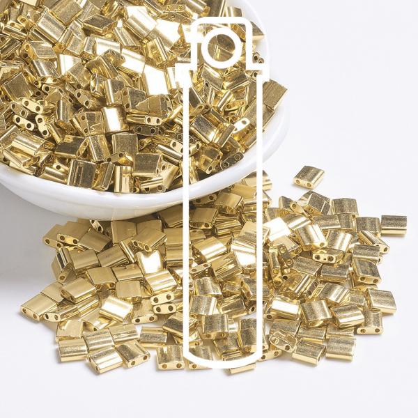 X SEED J020 TL191 1 MIYUKI TILA TL191 24kt Gold Plated Seed Beads, 10g/Tube