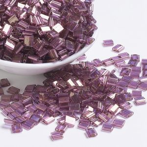 MIYUKI TILA TL316 Light Amethyst Gold Luster Seed Beads