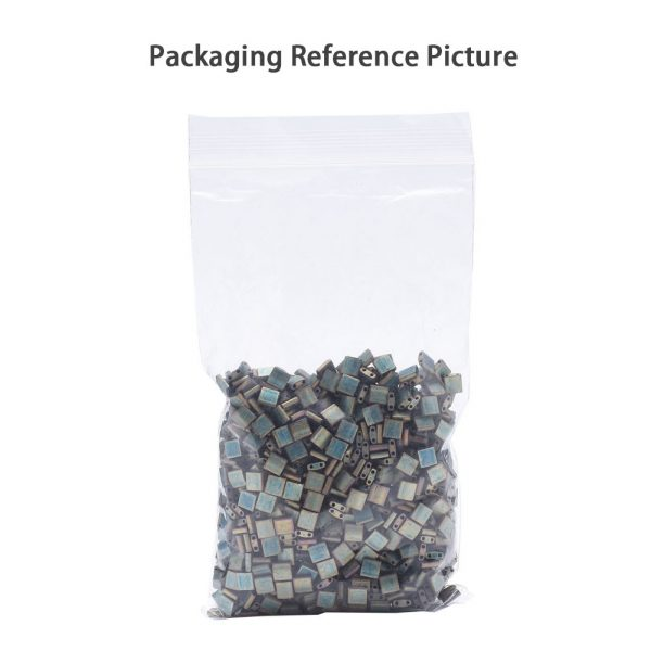 SEED J020 TL412 2 0 MIYUKI TILA TL412 Opaque Turquoise Green Seed Beads, 10g/Bag