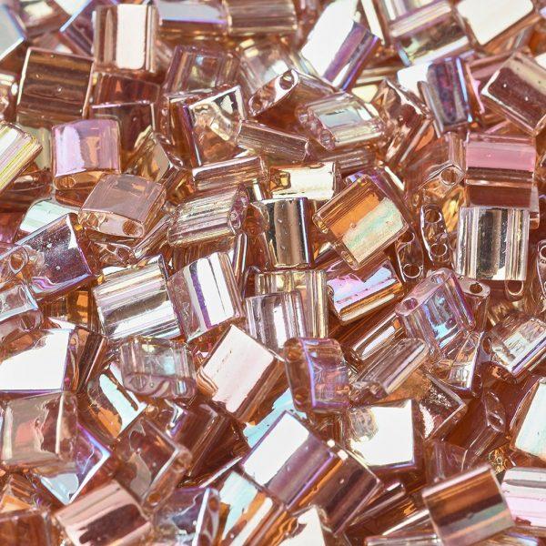 SEED J020 TL4576 1 MIYUKI TILA TL4576 Crystal Orange Rainbow Seed Beads, 10g/Tube