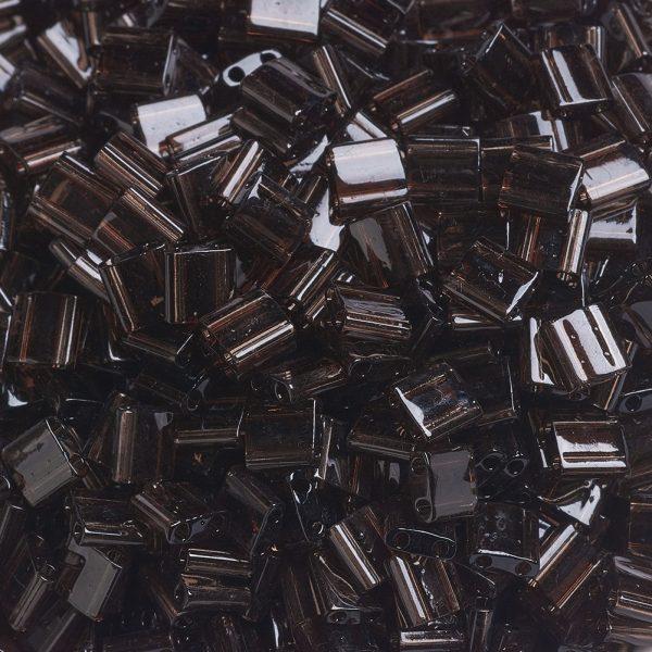 SEED JP0008 TL135 3 MIYUKI TILA TL135 Transparent Root Beer Seed Beads, 10g/Bag