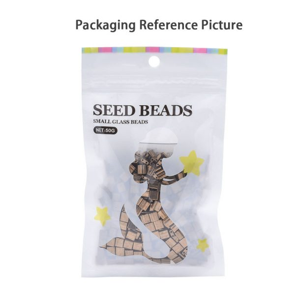 SEED X0054 TL0256 4 MIYUKI TILA TL256 Transparent Smoky Amethyst AB Seed Beads, 100g/Bag