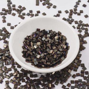 MIYUKI TILA TL458 Metallic Brown Iris Seed Beads