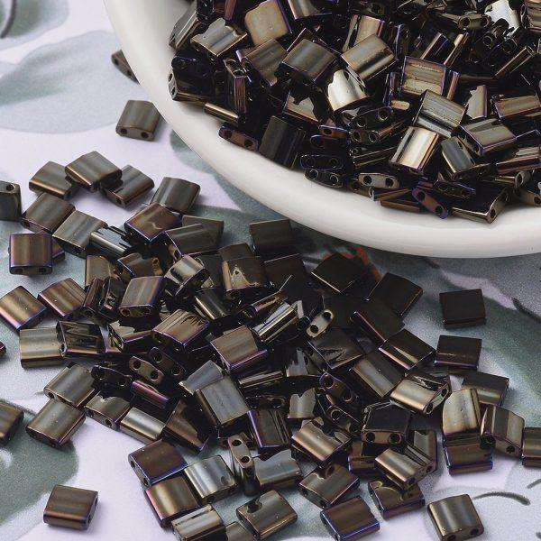 MIYUKI TILA TL458 Metallic Brown Iris Beads