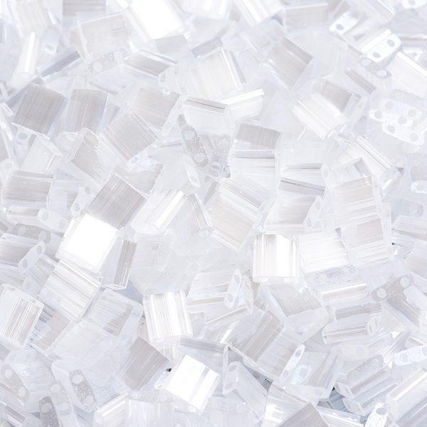 X SEED J020 TL2548 1 MIYUKI TILA TL2548 Crystal Silk Satin Luster Seed Beads, 10g/Bag