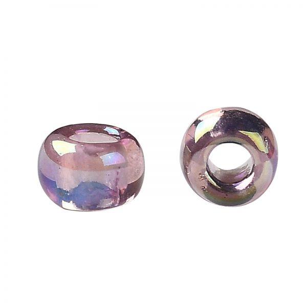 SEED TR08 0166 2 TOHO #166 8/0 Transparent AB Light Amethyst Round Seed Beads, 450g/bag