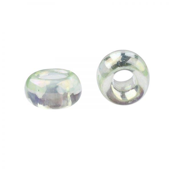 SEED TR08 0173 2 TOHO #173 8/0 Transparent Dyed AB Lemon Mist Round Seed Beads, 450g/bag