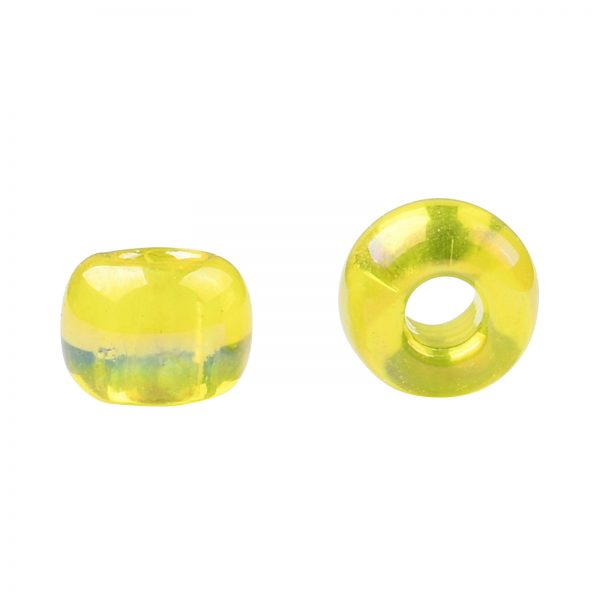 SEED TR08 0175 2 TOHO #175 8/0 Transparent AB Lemon Round Seed Beads, 450g/bag