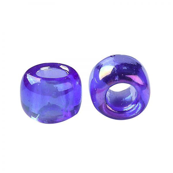 SEED TR08 0178 2 TOHO #178 8/0 Transparent AB Sapphire Round Seed Beads, 450g/bag
