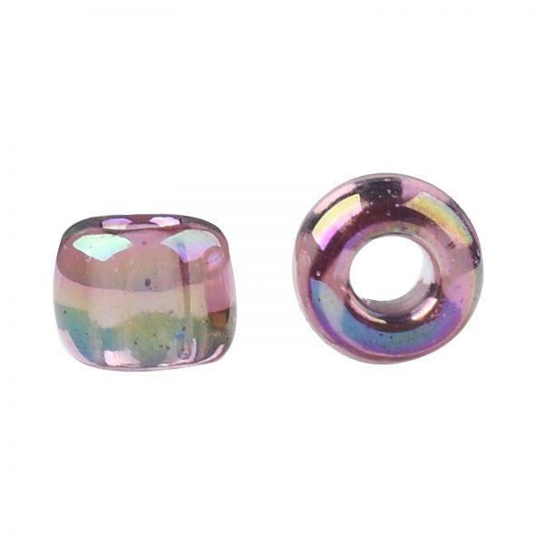 SEED TR11 0166B 2 TOHO #166B 11/0 Transparent AB Medium Amethyst Round Seed Beads, 450g/bag
