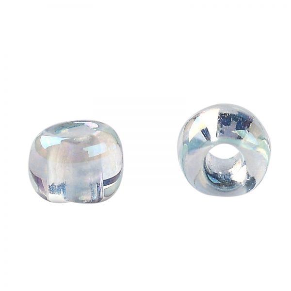 SEED TR11 0170 2 TOHO #170 11/0 Blue Topaz Dyed Transparent Rainbow Round Seed Beads, 450g/bag