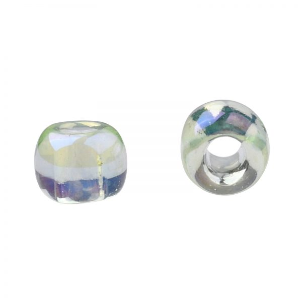 SEED TR11 0173 2 TOHO #173 11/0 Transparent Dyed AB Lemon Mist Round Seed Beads, 10g/bag