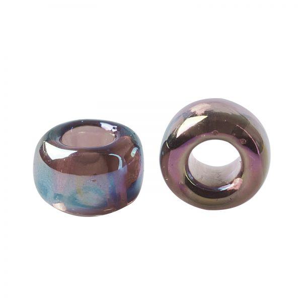 SEED TR15 0166C 2 TOHO #166C 15/0 Transparent AB Amethyst Round Seed Beads, 450g/bag