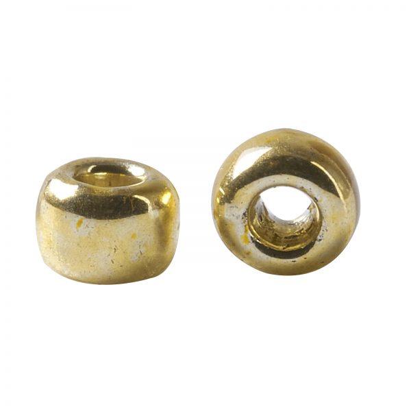 X SEED TR15 PF0557 2 TOHO #PF557 15/0 Permafinish Opaque Galvanized Starlight Round Seed Beads, 10g/bag